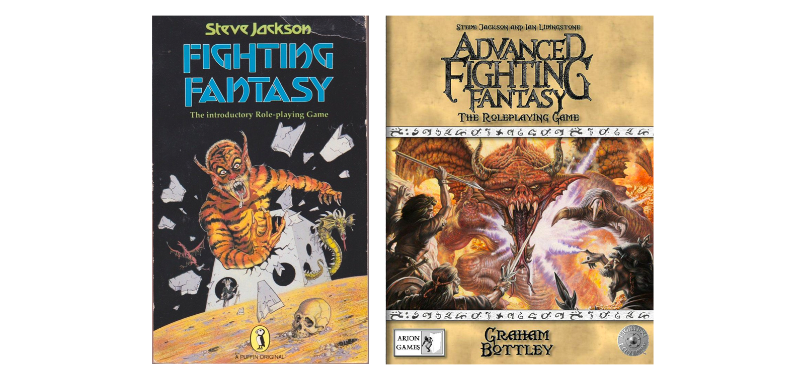 Fighting Fantasy RPG and Advanced Fighting Fantasy RPG