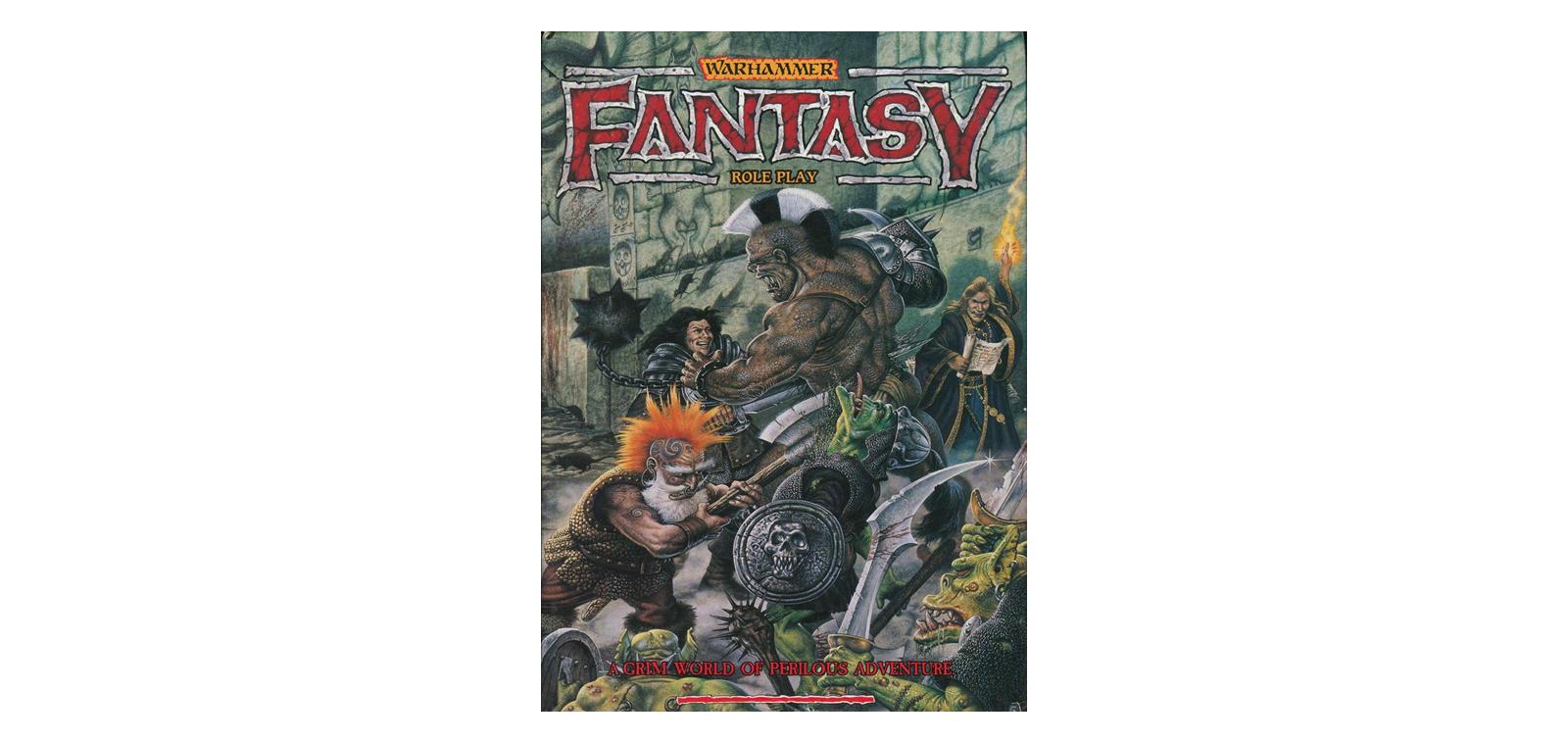 Warhammer Fantasy Role Play 1st Edition